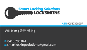 24 modern business card designs locksmith business card design business card design by viktorijan for this project design 1580579 colourmoves