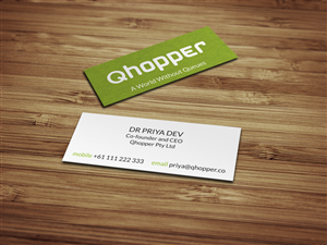 Simple Business Card Design 1559136