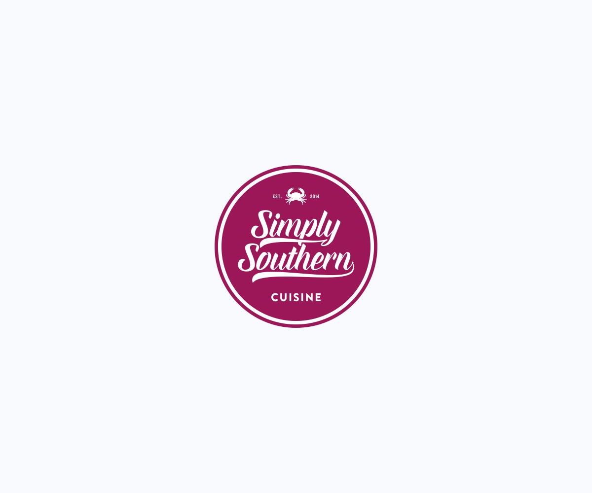 Elegant playful logo design design for simply southern for Southern designs