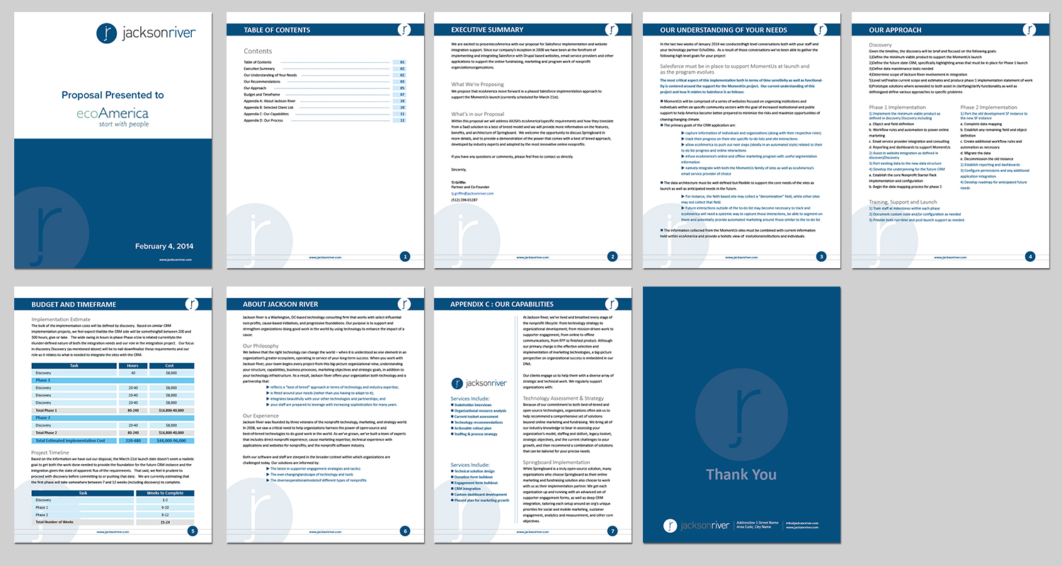 ms word proposal templates free