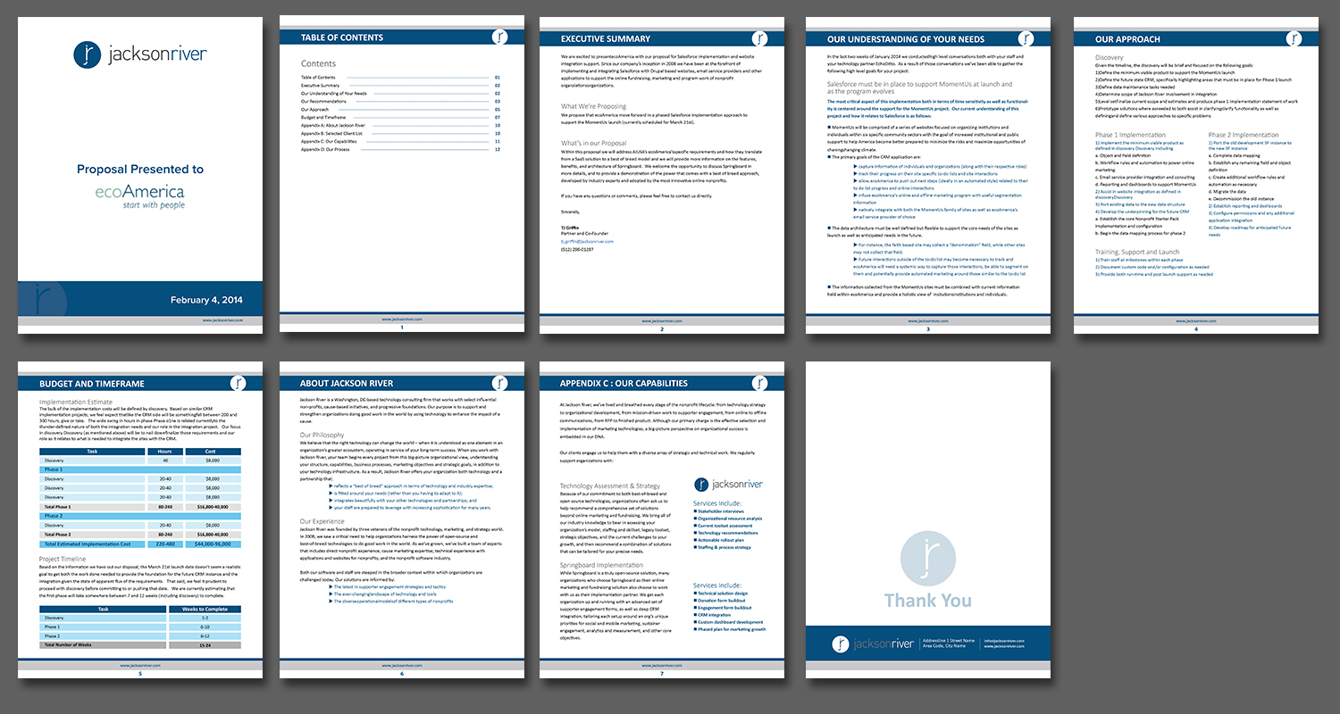 proposal template microsoft word
