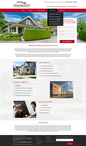 Genial Web Design By Esolbiz For This Project | Design: #5731010
