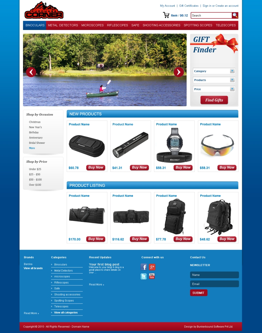 Professional masculine web design for purchase corner llc for Masculine web design