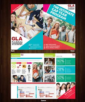 Brochure Design by j.allosso - Bifold brochure design for leadership academy