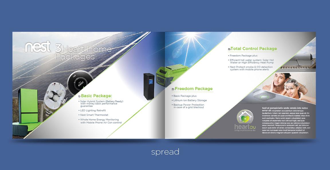 Modern, Colorful Brochure Design for Heartau by ganz abecia ...