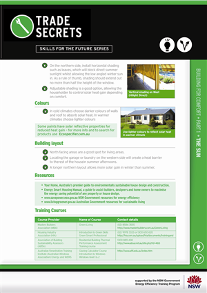 Flyer Design job – Energy Efficiency factsheets – Winning design by C23design Company