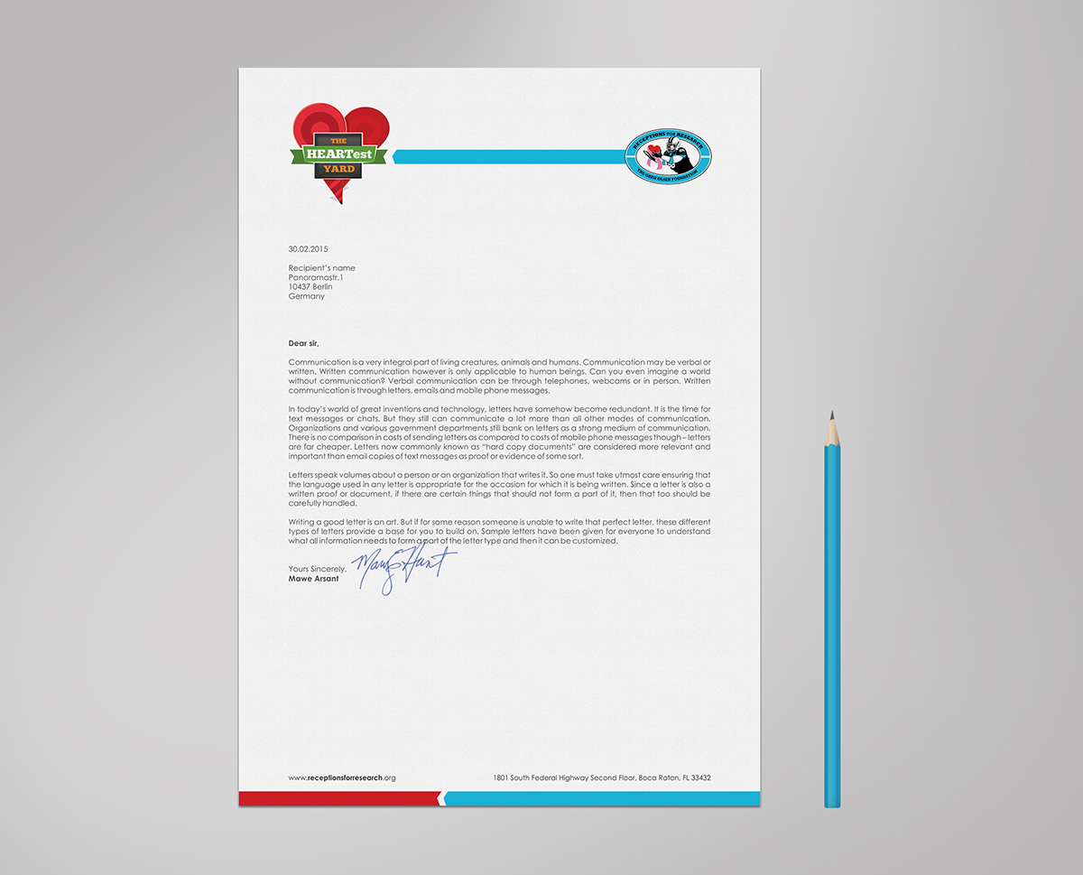 Non profit letterhead design for a company by logodentity design letterhead design by logodentity for this project design 5742085 spiritdancerdesigns Images