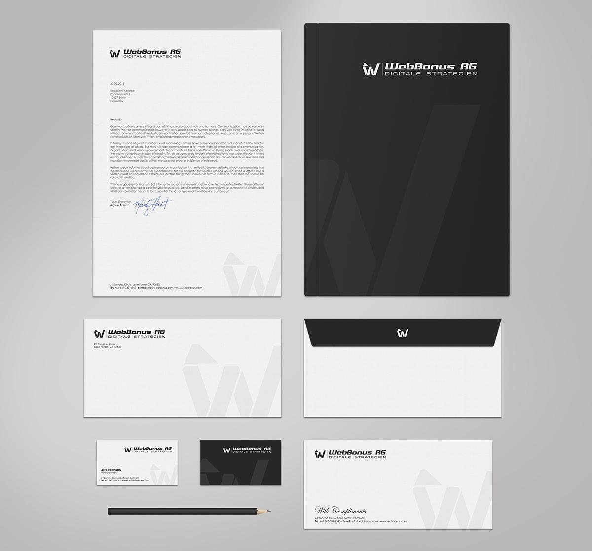 Elegant playful software business card design for webbonus ag by business card design by logodentity for webbonus ag design 6153269 reheart Image collections