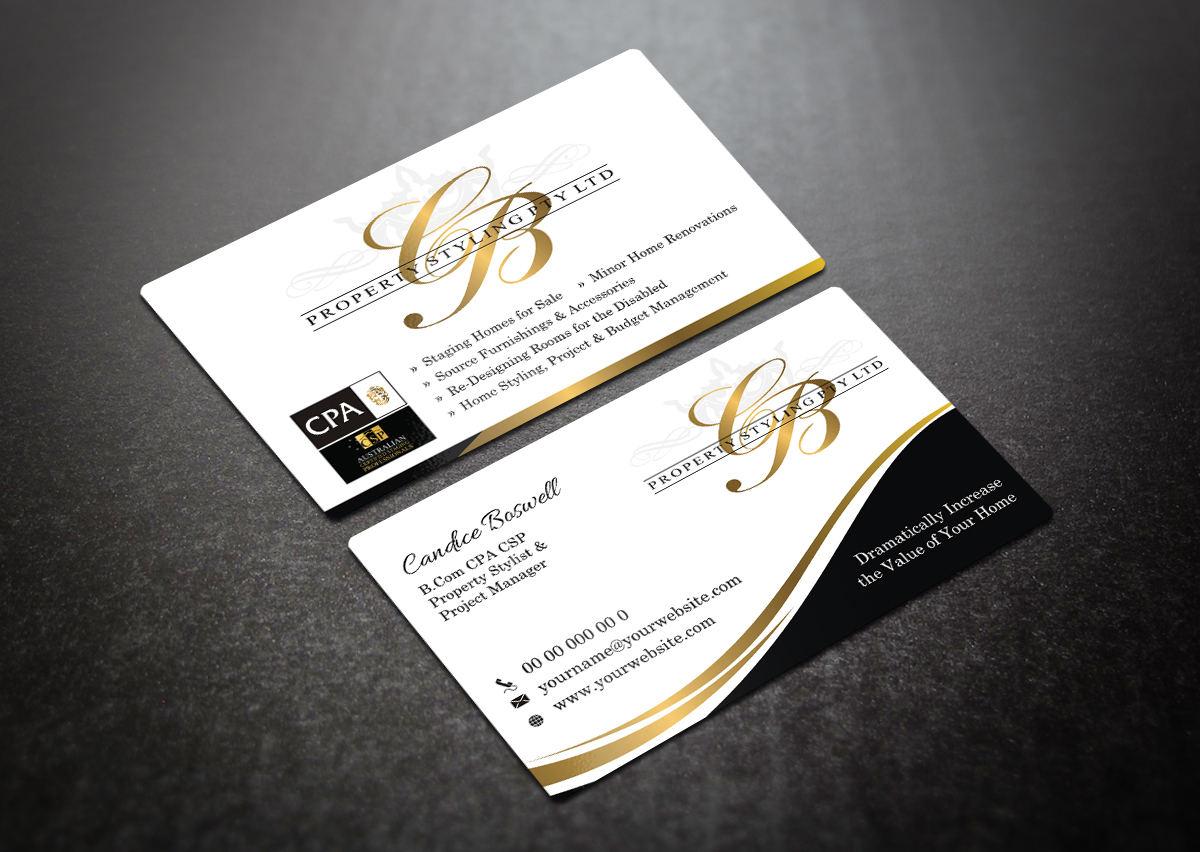 23 elegant business card designs business business card design business card design by indianashok for this project design 5783563 reheart Gallery