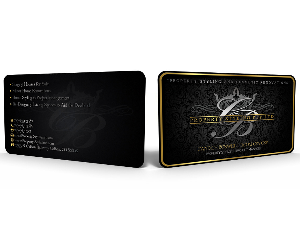 Elegant Professional Business Business Card Design For A Company
