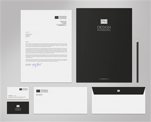 Business Card Design 5742949 Submitted To Interior Designer Branding Package Closed