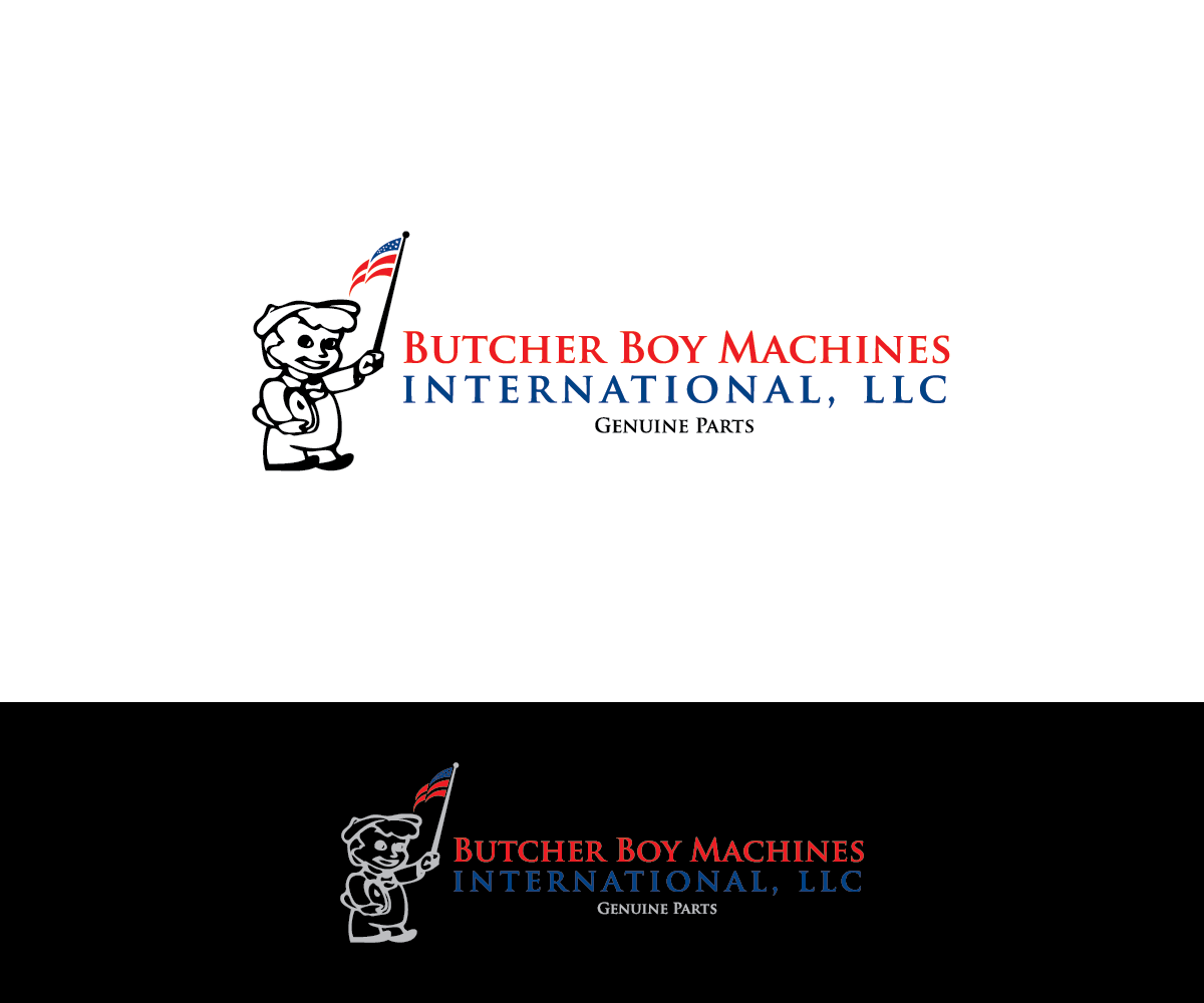 Serious professional logo design for butcher boy machines for Hispano international decor llc