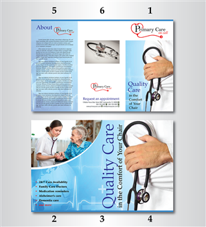 11 serious conservative medical brochure designs for a medical