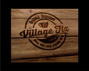 Logo Design by lucrative - Logo design for Village Fix coffee shop