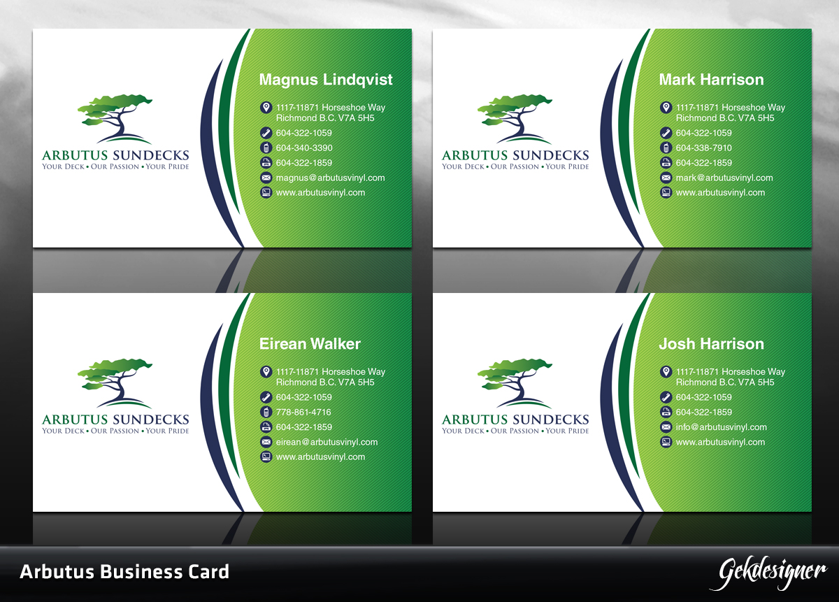 23 upmarket professional construction business card designs for a business card design design 1574212 submitted to sundeck construction company in need of magicingreecefo Images