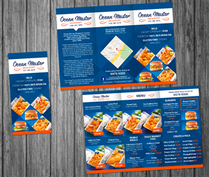 Brochure Design by Victor_pro - Ocean Master Newport Brochure & Flyer Design