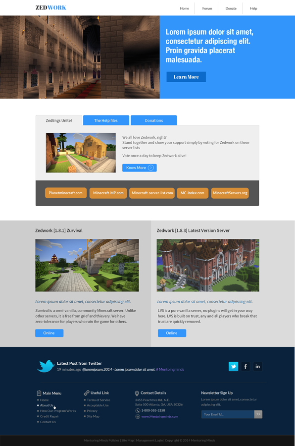 Upmarket Modern It Professional Web Design For A Company By Hih7 Design 5768301