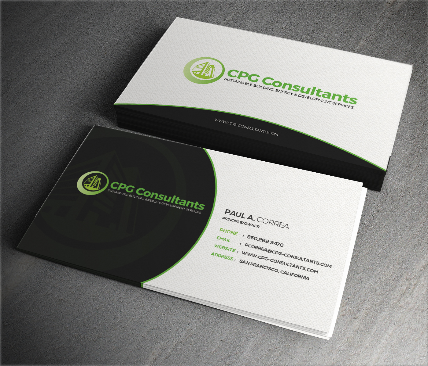 Elegant playful real estate business card design for cpg business card design by themedesk technology for cpg consultants design 5770862 colourmoves