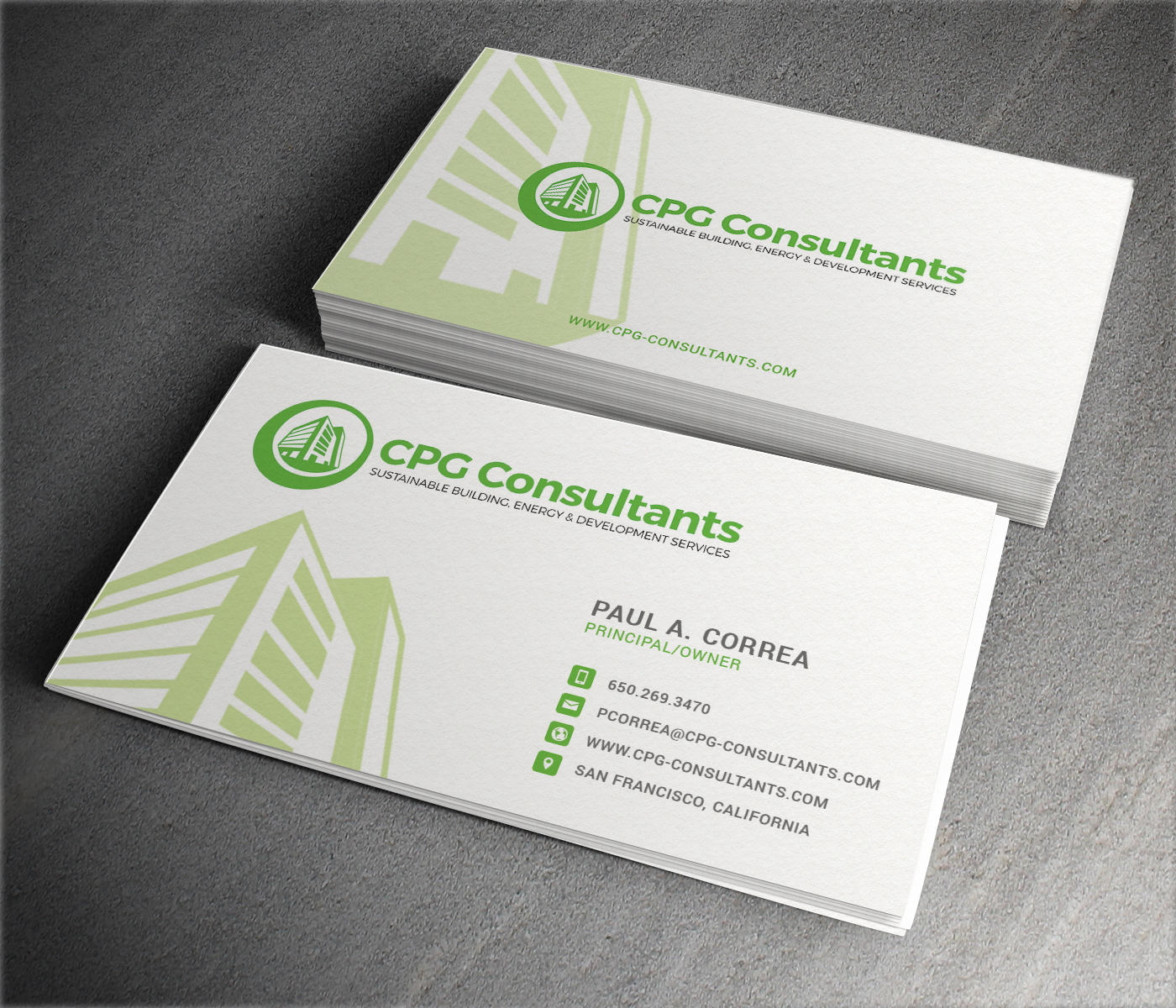 Elegant playful real estate business card design for cpg business card design by themedesk technology for cpg consultants design 5771048 colourmoves