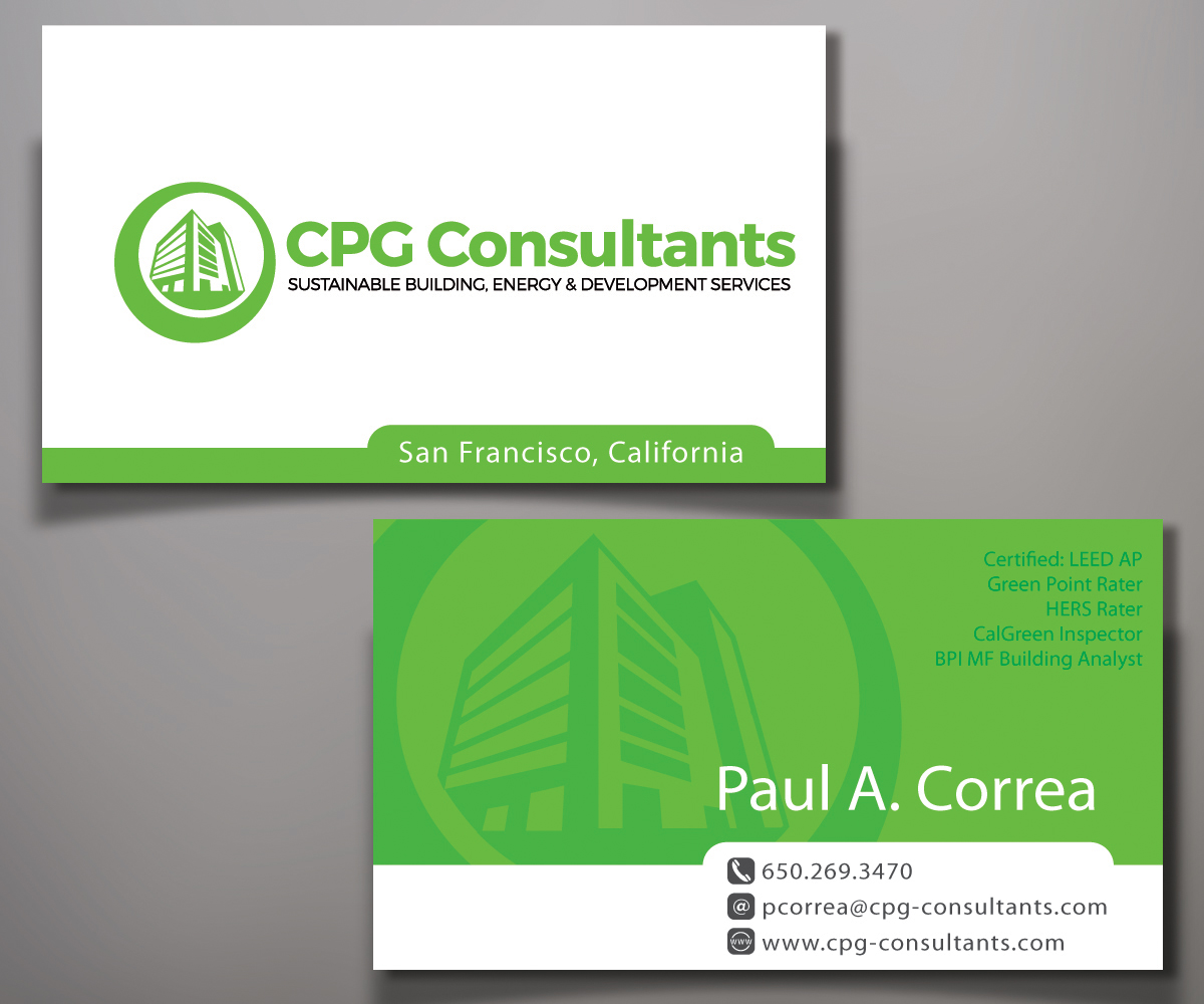 Elegant, Playful Business Card Design for CPG Consultants by ...