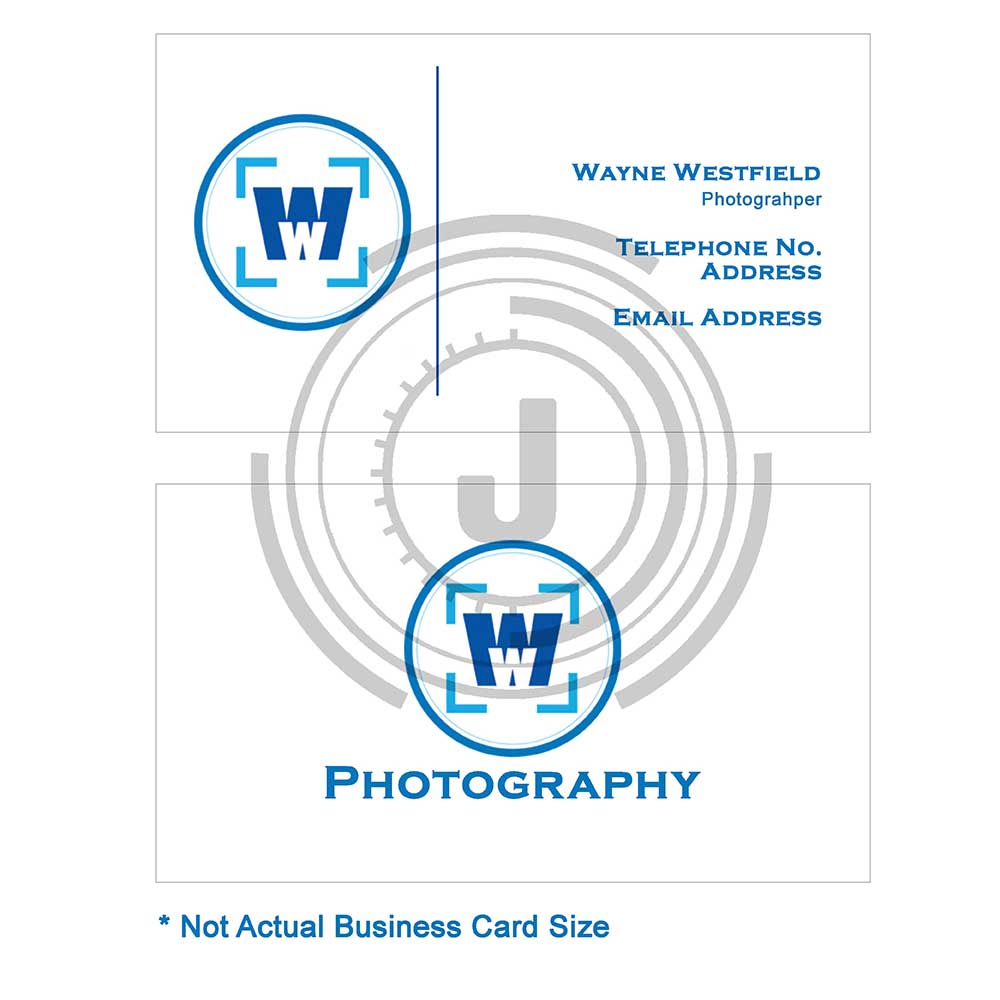 Bold, Professional, Business Business Card Design for Wayne ...