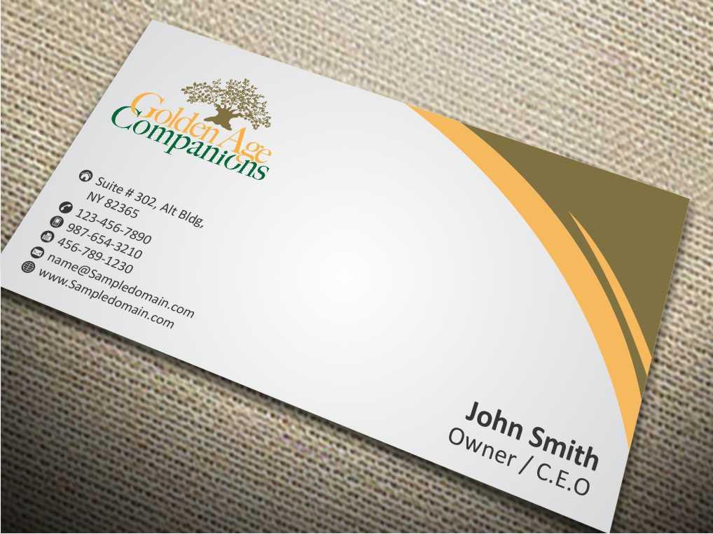 Masculine, Bold Business Card Design for Scott McKenzie by szabist ...