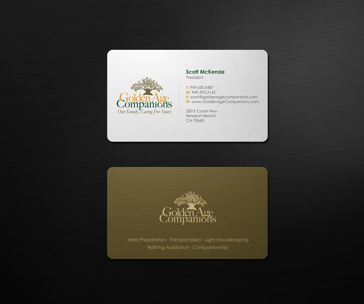Masculine, Bold Business Card Design for Scott McKenzie by ...