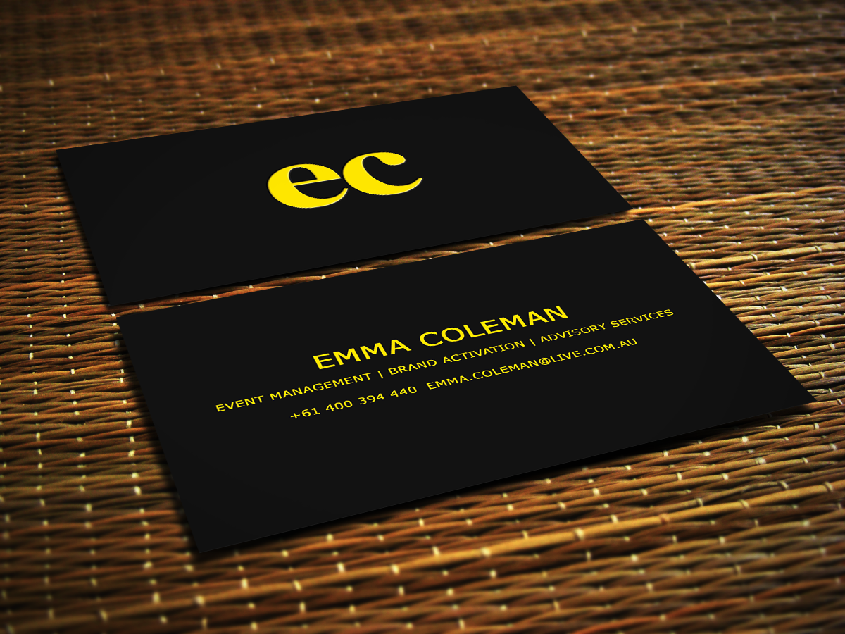 Business Card Design By Sajin For This Project