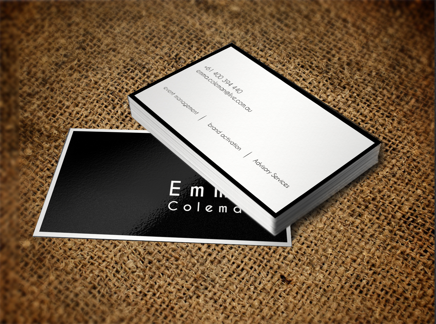 Business Card Design By Creation Lanka For This Project