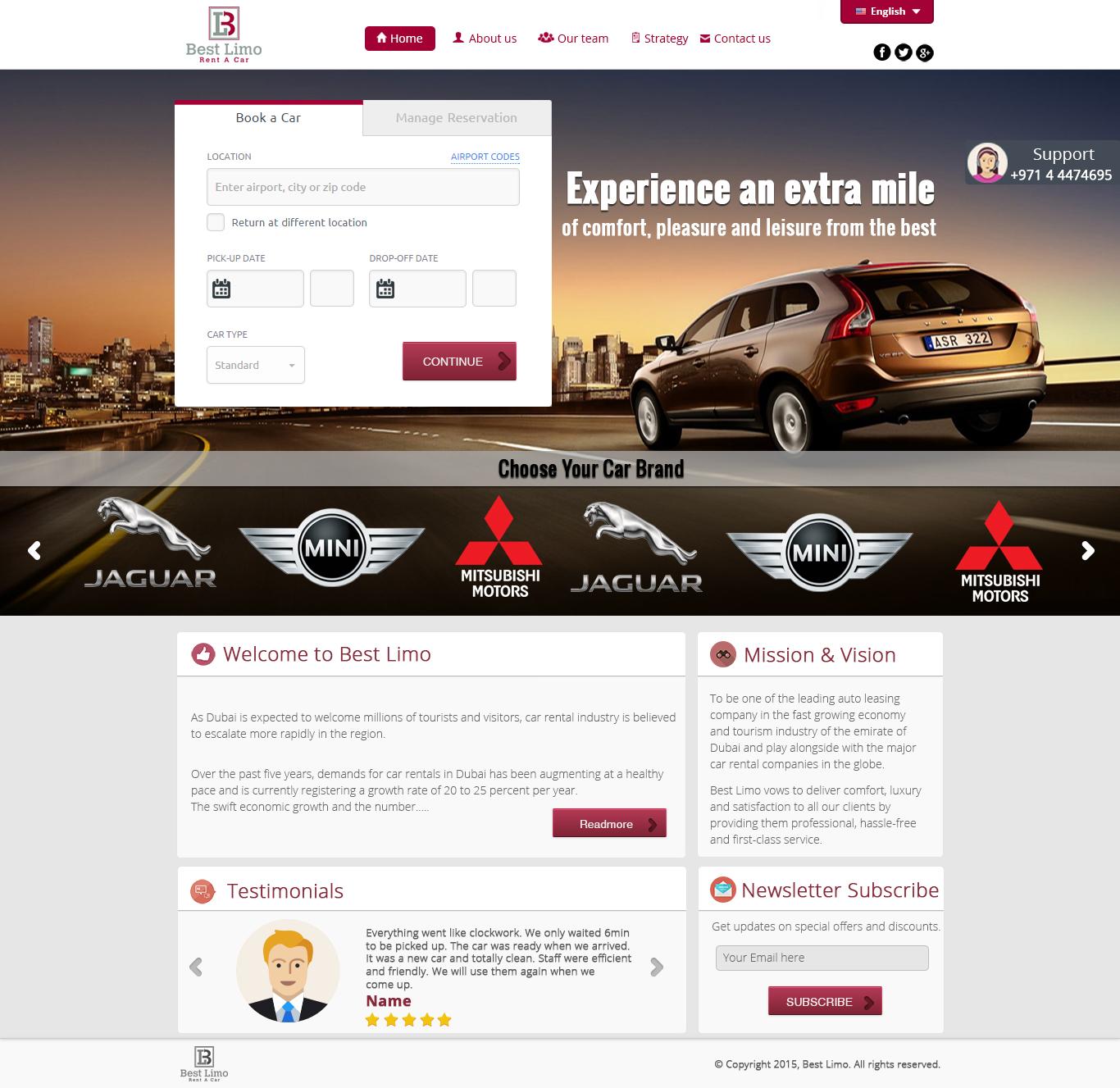 Elegant Professional It Company Web Design For A Company By Digital Sansthan Design 5767875