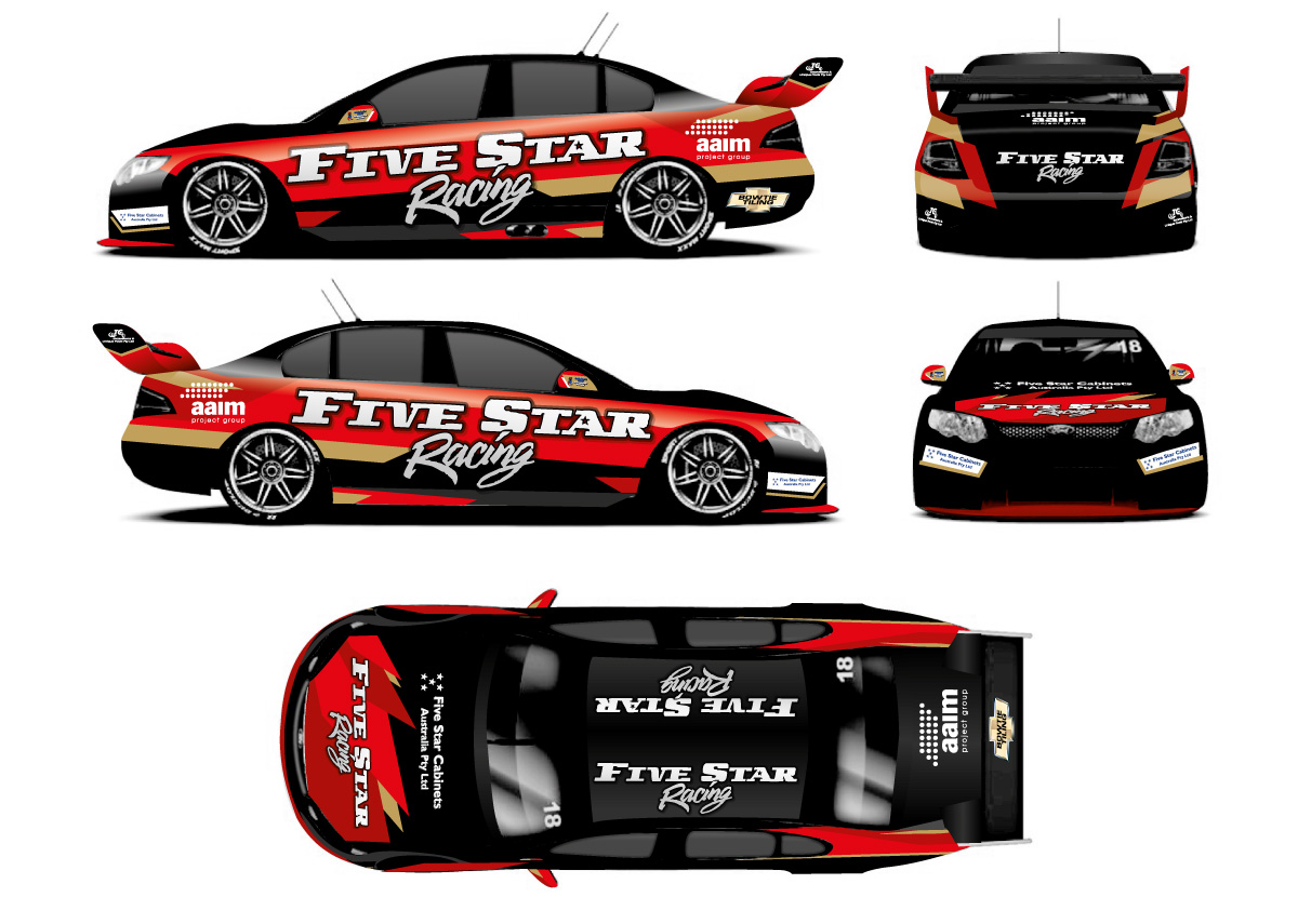 Car Racing Stickers Design images