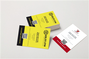 Gym Business Card 1571817