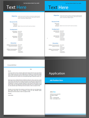 Print Design by Cathy Lee - Design a Job Application & CV