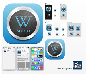 Icon Design by koolriz86 - Icon for wikipedia audio reader and guide