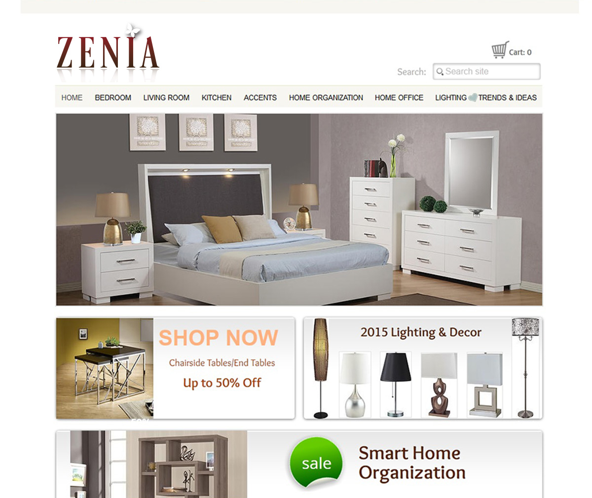 Business Logo Design For Zenia Or Zenia Home Furnishings By Kicha