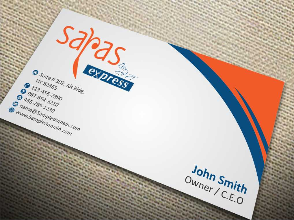 Elegant playful business business card design for a company by business card design by szabist for this project design 5802823 reheart Image collections