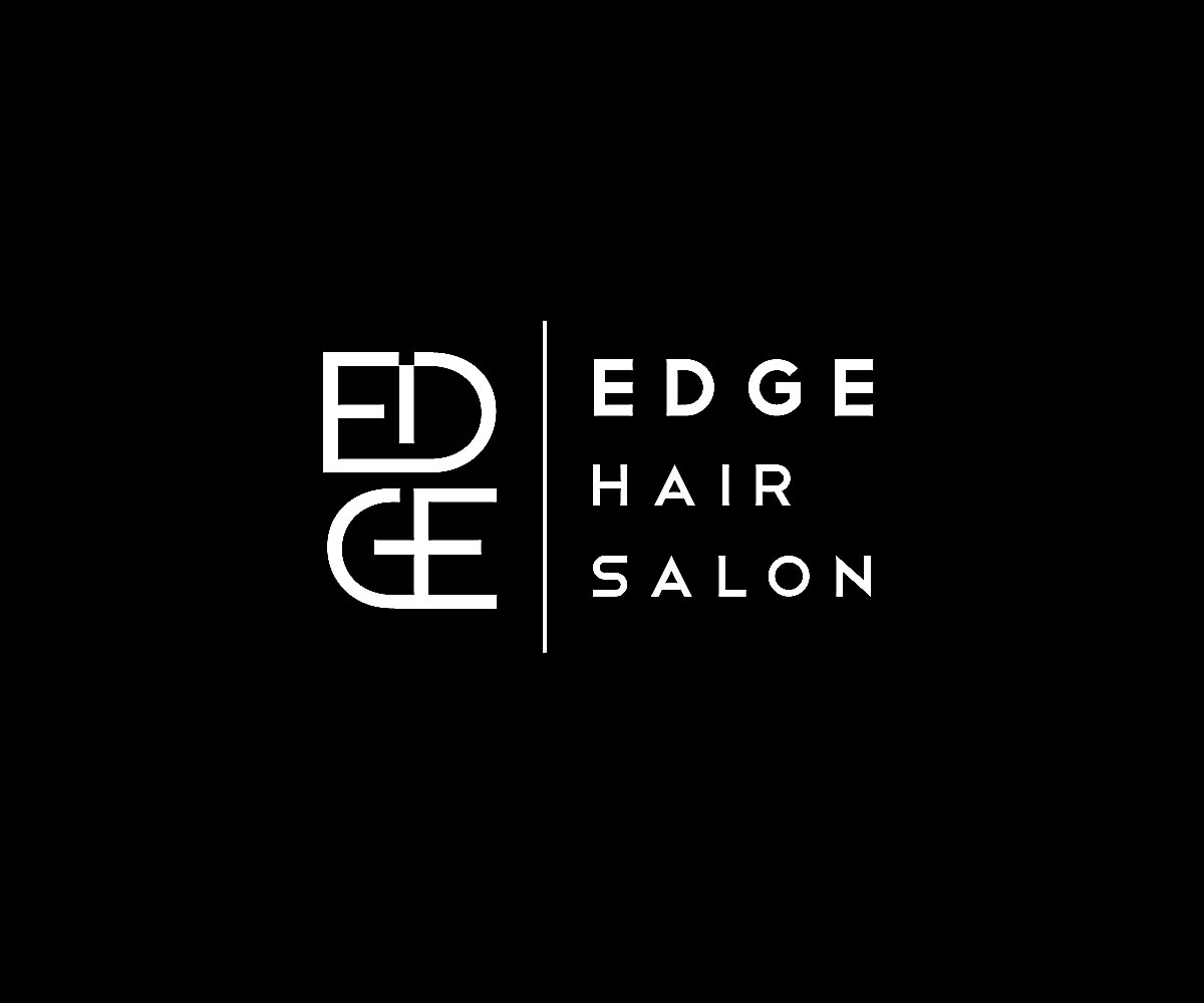 Modern professional business logo design for edge hair for Edge hair salon