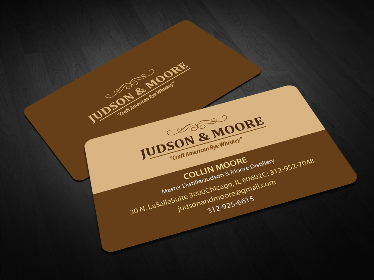 Upmarket, Traditional Business Card Design for Judson Bergman by ...