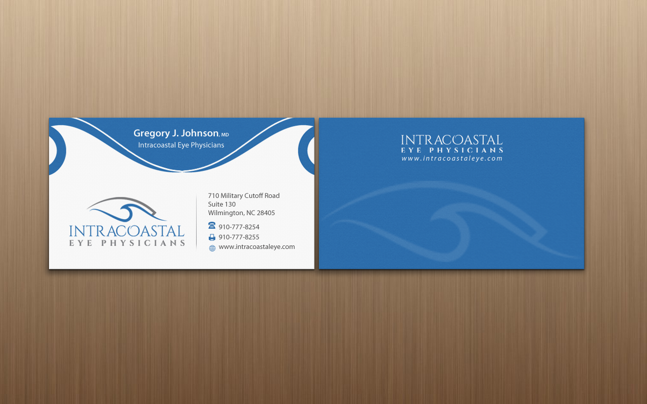 Professional, Masculine, Medical Business Card Design for a Company ...
