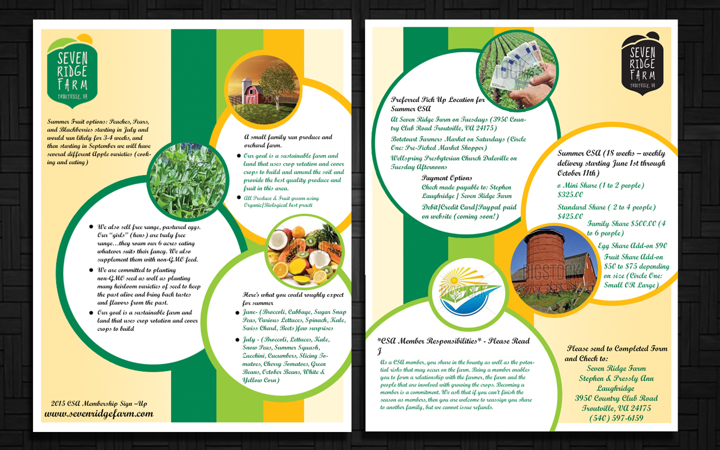 personable colorful advertising flyer designs for a advertising flyer design design 5802115 submitted to family farm business requires flyer for local