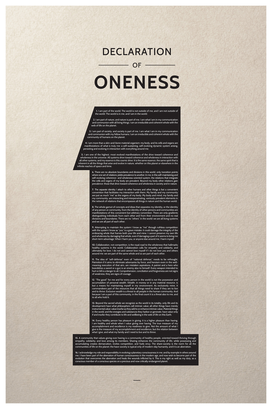 Poster design meaning - Poster Design By Lmcf For Oneness Poster Design 1614817