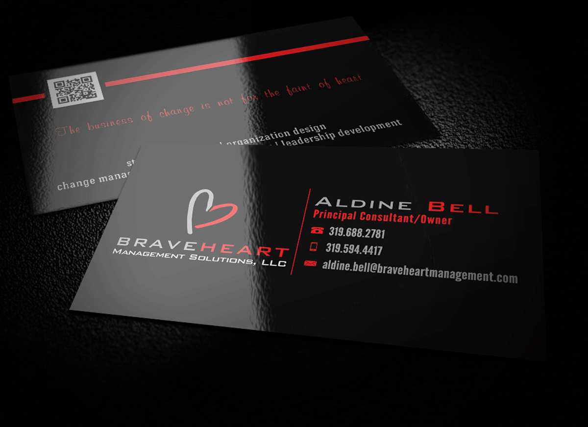 31 Professional Business Card Designs | Management Consulting ...