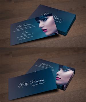 makeup business cards designs