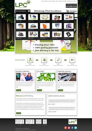 Small Business Web Page Design 1591479