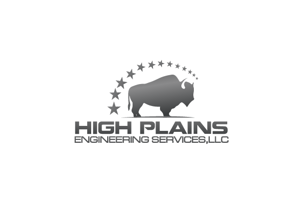 Serious Masculine Engineering Logo Design For High Plains Engineering Services Llc By Digihexagon Design 5799946