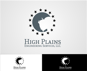 Serious Masculine Engineering Logo Design For High Plains Engineering Services Llc By Lucrative Design 5799871