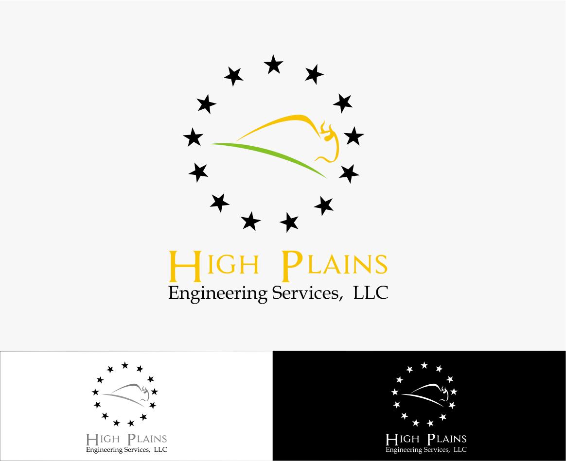 Serious Masculine Engineering Logo Design For High Plains Engineering Services Llc By Sanjaya Design 5813723