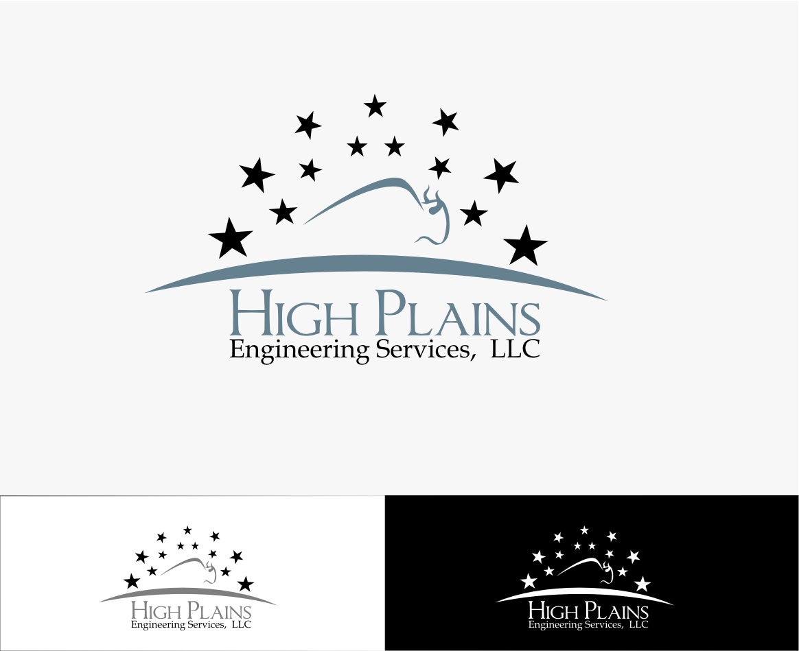 Serious Masculine Engineering Logo Design For High Plains Engineering Services Llc By Sanjaya Design 5824434