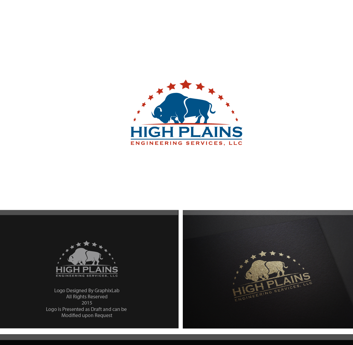 Serious Masculine Engineering Logo Design For High Plains Engineering Services Llc By Graphix Lab Design 5797199
