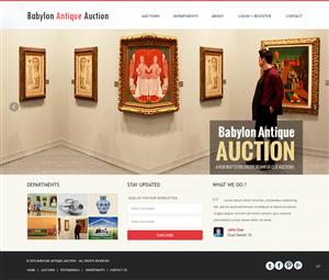 Web Design by pb - babylon antique auction